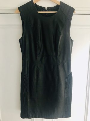 Vero Moda Leather Dress black