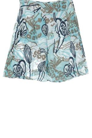 Vero Moda Plaid Skirt flower pattern elegant