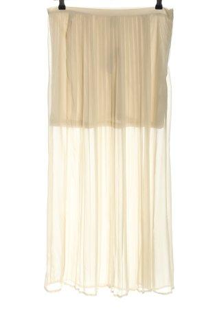 Vero Moda Plisowana spódnica w kolorze białej wełny W stylu casual