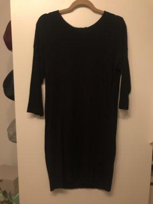 Vero Moda Feinstrick Kleid Mini schwarz M