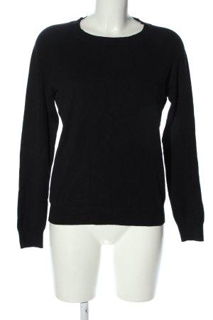 Vero Moda Feinstrickpullover schwarz Casual-Look