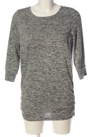 Vero Moda Sudadera de punto fino gris claro moteado look casual