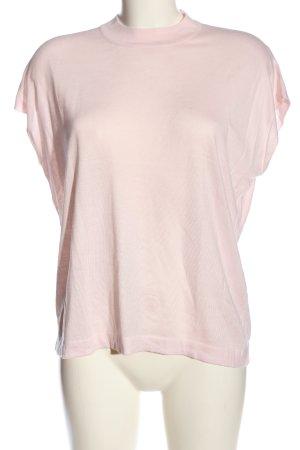 Vero Moda Cárdigan de punto fino rosa punto trenzado look casual