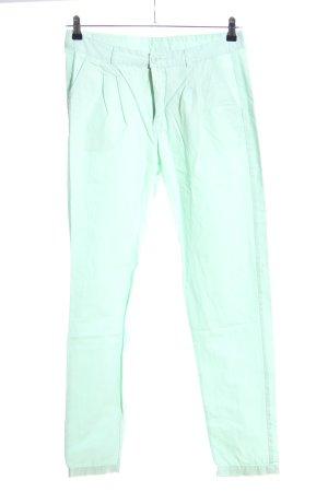 Vero Moda Pantalon cinq poches turquoise style décontracté