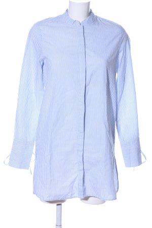 Vero Moda Flanellhemd blau-weiß Streifenmuster Business-Look