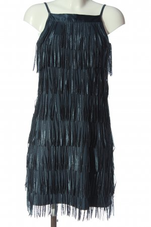 Vero Moda Jurk met franjes blauw elegant