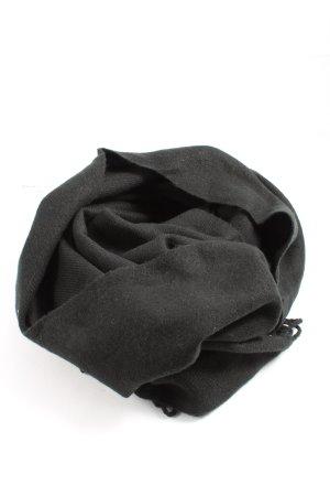 Vero Moda Bufanda de flecos negro estilo «business»