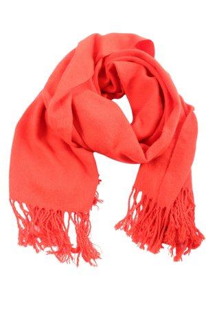 Vero Moda Écharpe à franges rouge style d'affaires