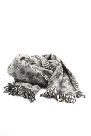 Vero Moda Bufanda de flecos estampado con diseño abstracto look casual