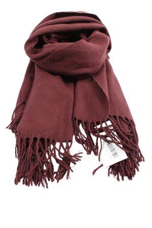 Vero Moda Bufanda de flecos marrón look casual