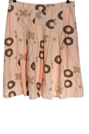 Vero Moda Glockenrock abstraktes Muster Casual-Look