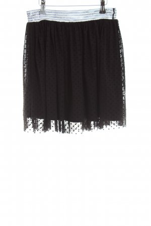 Vero Moda Glockenrock schwarz Punktemuster Elegant