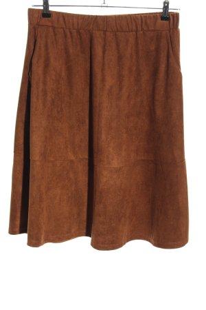 Vero Moda Klokrok bruin casual uitstraling