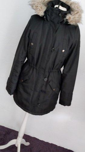 Vero Moda Płaszcz puchowy czarny
