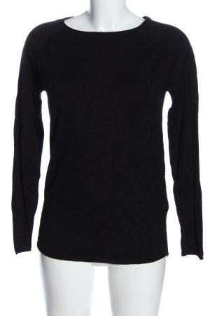 Vero Moda Grobstrickpullover schwarz Casual-Look