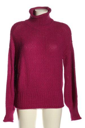 Vero Moda Grobstrickpullover pink Casual-Look