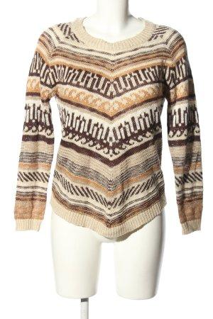 Vero Moda Pullover a maglia grossa motivo astratto stile casual