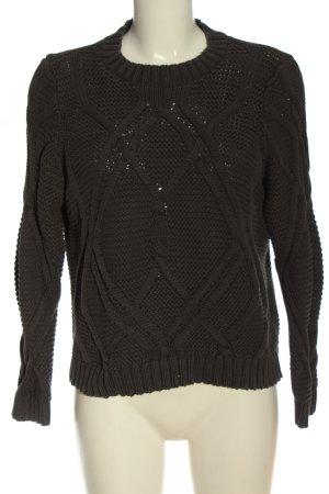Vero Moda Crochet Sweater light grey casual look