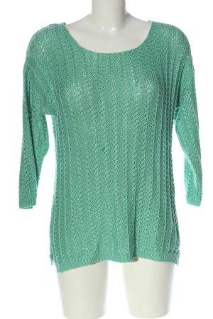 Vero Moda Häkelpullover grün Casual-Look