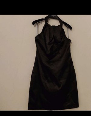 Vero Moda Sukienka z dekoltem typu halter czarny Poliester