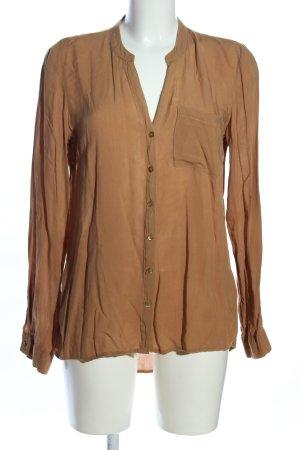 Vero Moda Hemd-Bluse braun Casual-Look
