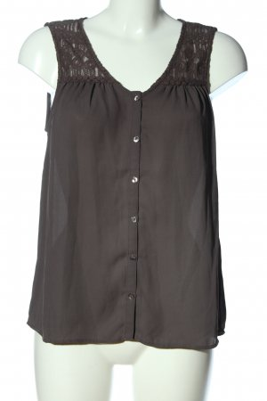 Vero Moda Hemd-Bluse rot-hellgrau Casual-Look