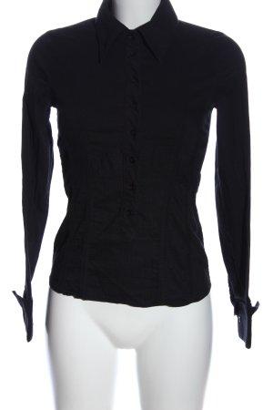 Vero Moda Hemd-Bluse schwarz Business-Look