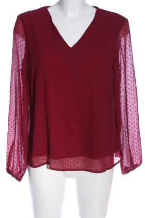 Vero Moda Hemd-Bluse rot Casual-Look