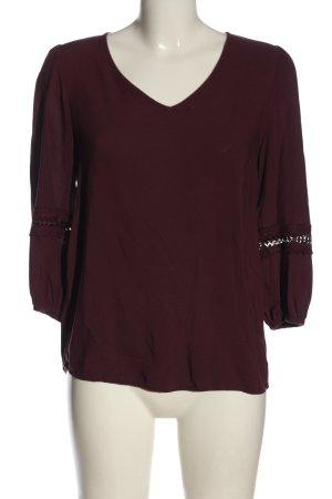 Vero Moda Hemd-Bluse rot klassischer Stil