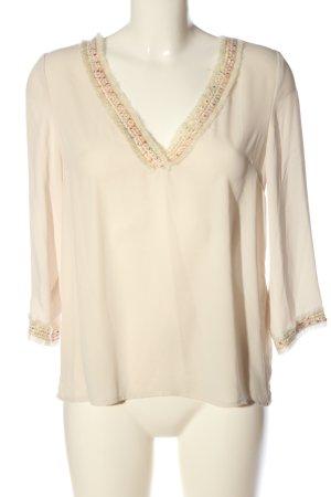 Vero Moda Hemd-Bluse creme Business-Look