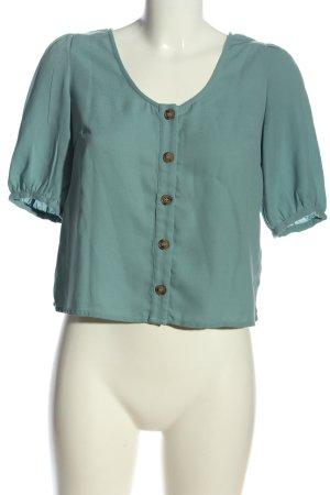 Vero Moda Camicia blusa turchese stile casual