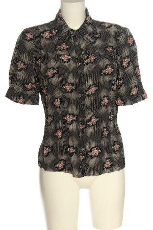 Vero Moda Hemd-Bluse Blumenmuster Elegant