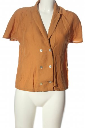 Vero Moda Hemd-Bluse hellorange Casual-Look