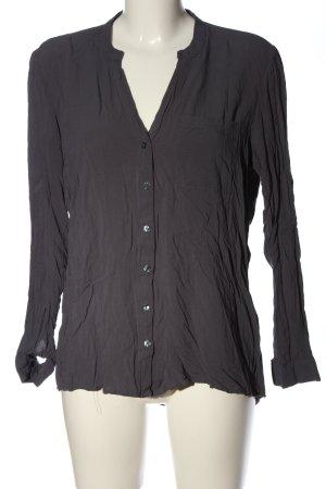 Vero Moda Hemd-Bluse hellgrau Business-Look