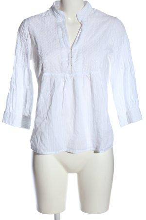 Vero Moda Hemd-Bluse weiß Streifenmuster Business-Look