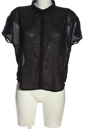 Vero Moda Hemd-Bluse schwarz Elegant
