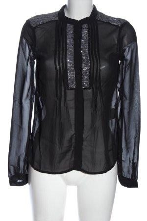 Vero Moda Hemd-Bluse schwarz Casual-Look