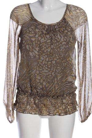 Vero Moda Hemd-Bluse abstraktes Muster Casual-Look