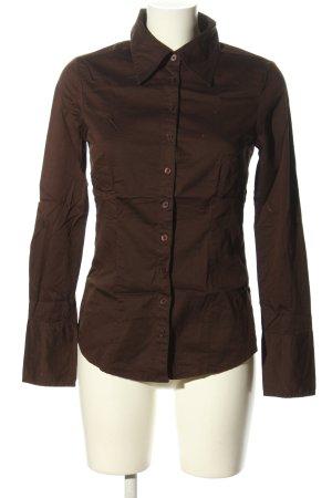 Vero Moda Hemd-Bluse braun Business-Look