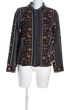 Vero Moda Hemd-Bluse Blumenmuster Business-Look