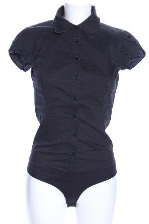 Vero Moda Hemd-Bluse blau Casual-Look