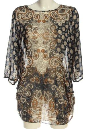 Vero Moda Hemd-Bluse abstraktes Muster Elegant