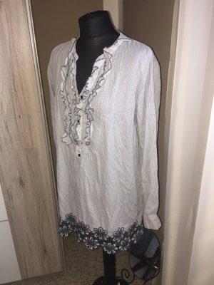 Vero moda Hemd Kleid blau XL
