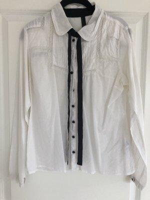 VERO MODA Hemd mit Schleifenbänder Gr. 38