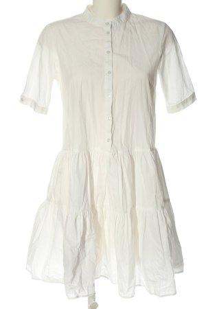 Vero Moda Hemdblusenkleid weiß Elegant