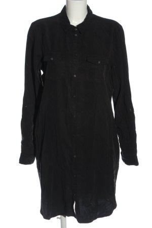 Vero Moda Hemdblousejurk zwart casual uitstraling