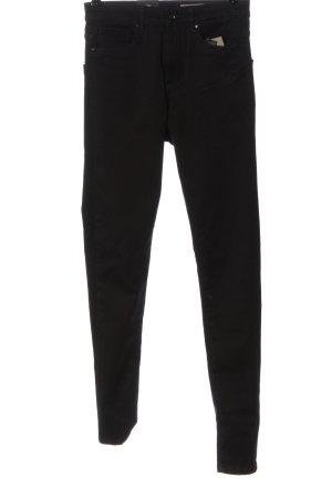 Vero Moda High-Waist Hose schwarz Casual-Look