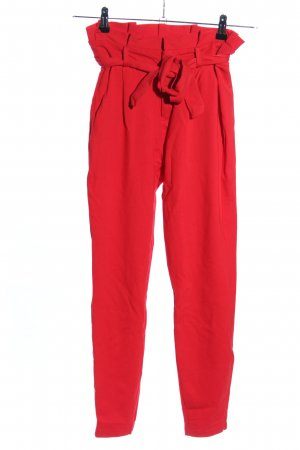 Vero Moda High-Waist Hose rot Casual-Look