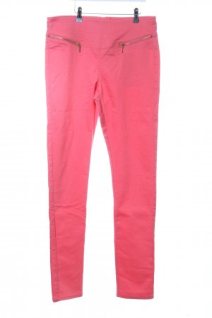 Vero Moda High-Waist Hose pink Casual-Look