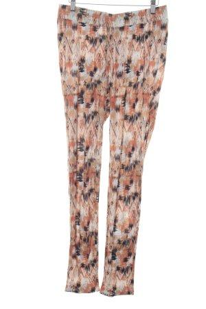 Vero Moda High-Waist Hose abstraktes Muster Casual-Look